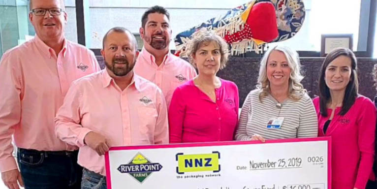 River Point Farms - Donation to Charity